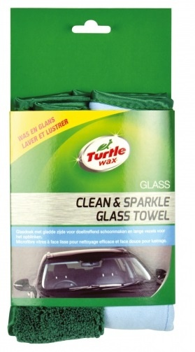 turtle wax x5344td dual action glasdoek 38 x 40 cm