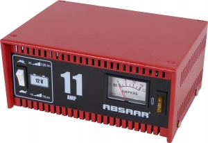Absaar battery charger 12 Volt 18-120 Ah 11 amps red
