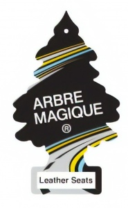 Arbre Magique air freshener Leather Seats 12 cm black