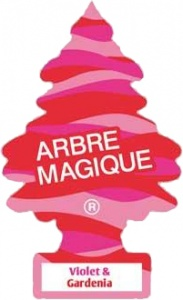 Arbre Magique air Freshener 12 x 7 cm Foot and Gardenia  pink
