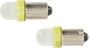 AutoStyle car lamp T4W 12 Volt 0.5 Watt 2 pieces yellow