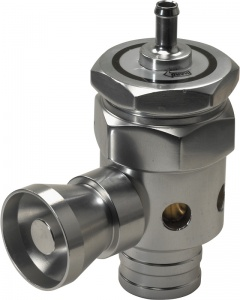 AutoStyle Blow Off Valve Ø 22 mm 80 mm silver