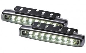 AutoStyle daytime running lights 12 Volt LED 112 x 24 x 38 mm