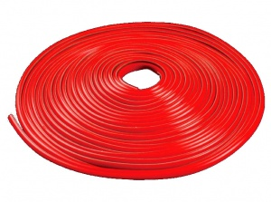 AutoStyle decoration strip self-adhesive PVC 5000 x 40 mm red