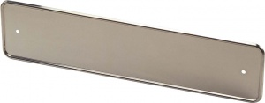 AutoStyle license plate holder 532 x 130 mm stainless steel chrome
