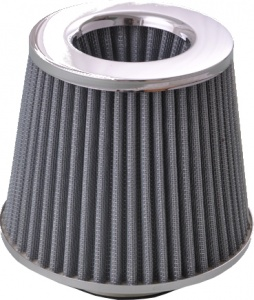 AutoStyle air filter 160 x 130 mm 76 mm gray
