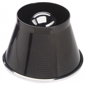 AutoStyle luchtfilter 190 x 140 mm 76 mm carbon