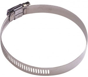 AutoStyle hose clamp Stainless steel universal 59-82 mm silver