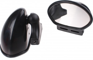 AutoStyle sports mirrors K5 2 pieces black