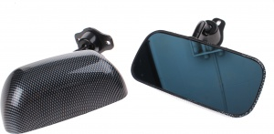 AutoStyle sport mirrors F1 manually with 2 pieces of carbon