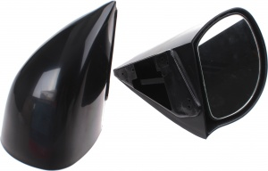 AutoStyle sport mirrors Group N manual 2 pieces black