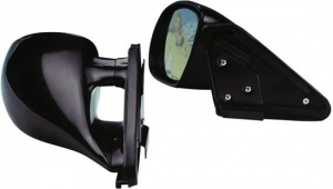 AutoStyle sport mirrors K3 electric 4-wire 2 pieces black