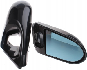AutoStyle sport mirrors K6 manual 2 pieces black