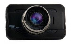 AutoStyle WDR dashcam Full HD 1080 pixels G-Sensor black