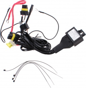 AutoStyle xenon wiring harness with relay H4