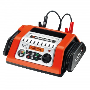 Black & Decker chargeur de batterie 12 Volt 10 Ampère 20-180 Ah orange