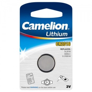 Camelion battery button cell Lithium 3V CR2016 per piece