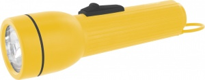 Camelion led flashlight yellow plastic 19 cm