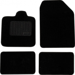 Car Plus car kit ready-made model 8 textile black 4-piece