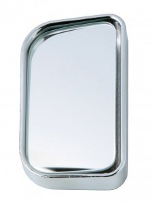 Car Plus dead angle mirror 600R rectangular 75 x 44 mm chrome