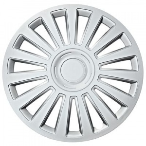Car Plus wieldop California 13 inch ABS zilver per stuk