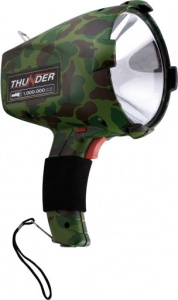 Car Plus zaklamp Thunder oplaadbaar camouflage groen 55 Watt