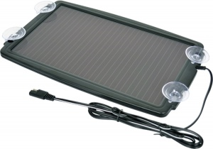 Carpoint battery charger solar panel 12 Volt black