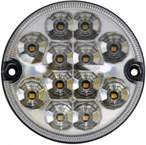Carpoint achteruitrijlamp 12/24 Volt led 95 mm wit