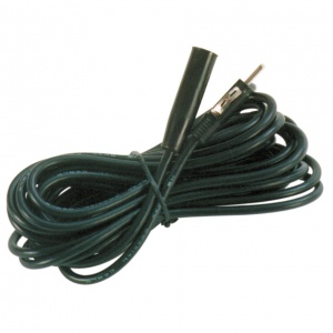 Carpoint antenna extension cable 5 meters black