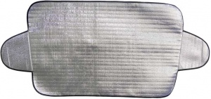 Carpoint anti-ice blanket aluminum 180 x 85 cm silver