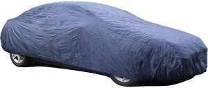 Carpoint autohoes S 406 x 160 x 119 cm polyester blauw
