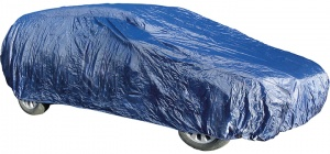 Carpoint autohoes Station M 448 x 168 x 115 cm polyester blauw