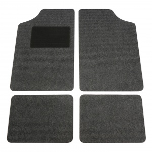 Carpoint automattenset uni anthracite 4-piece
