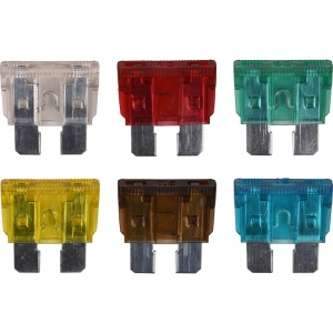 Carpoint auto fuse set normal 6-part