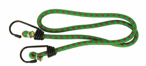 Carpoint luggage belt with hooks Ø8 mm green 80 cm