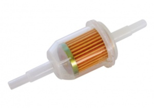 Carpoint petrol filter 11 cm transparent