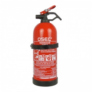 Carpoint fire extinguisher ABC with holder 1kg red 29,4cm