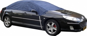 Carpoint roof cover size L 266 x 165 x 58 cm blue