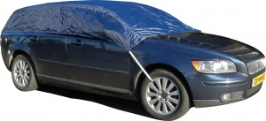 Carpoint roof cover estate car size L (up to 458 cm) blue