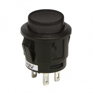 Carpoint pressure switch 12V black