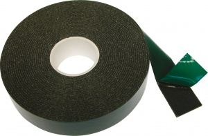 Carpoint double-sided tape 25 mm 5 meters black