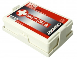 Carpoint First aid kit Junior with holder 32 pieces