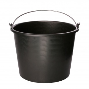 Carpoint bucket 12 liters black