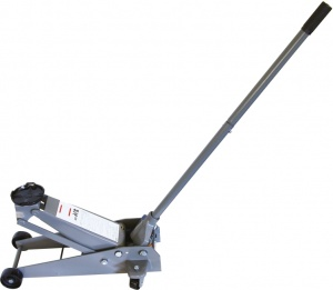 Carpoint garage jack 2.25 ton steel gray