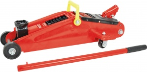 Carpoint garage jack 2 tons steel red