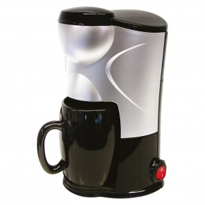 Carpoint Just 4 You koffiezetapparaat 150 ml (12V/170W) zwart