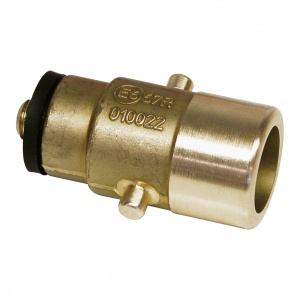 Carpoint LPG-nippel Bajonet 10 mm messing goud