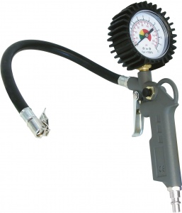 Carpoint air gun with manometer aluminum grjis