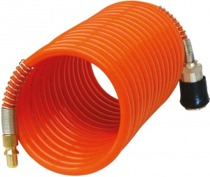Carpoint air hose for compressor 4 meters orange