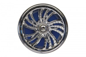 Carpoint luchtverfrisser Spinnerz New Car Fresh blauw